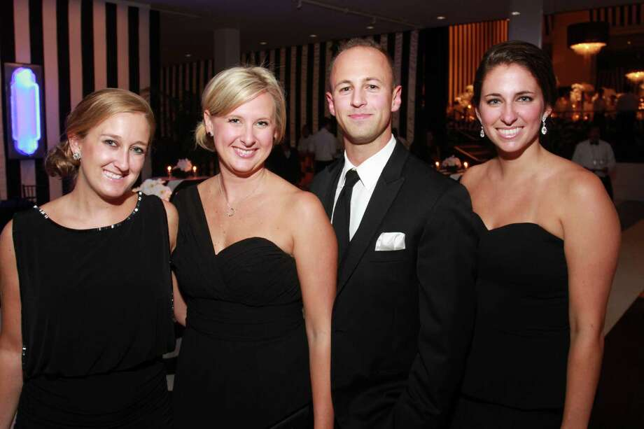 Tanya Green, left, Allison Zayler, Ross Boyce and Lauren Walstad  Photo: Gary Fountain, Gary Fountain/For The Chronicle / Copyright 2015 Gary Fountain