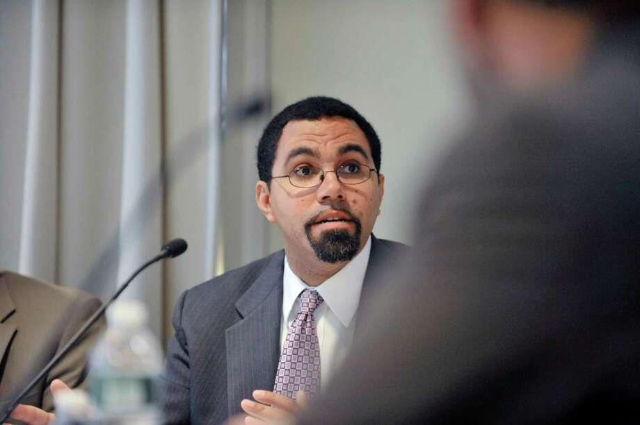 New York State Education Commissioner John King takes part in a Board of Regents meeting at the State Education building on Monday, Dec. 15, 2014, in Albany, N.Y.  (Paul Buckowski / Times Union) Photo: Paul Buckowski / 00029860A