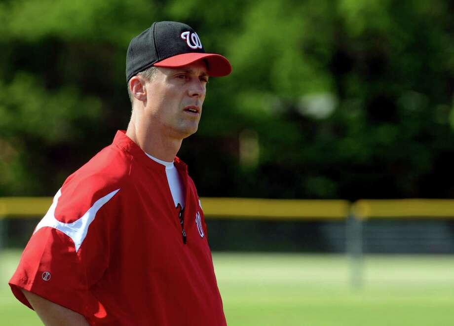 Former Fairfield Warde head baseball coach Mark Caron has accepted the Athletic Director's position at Bethel. Photo: Christian Abraham / Hearst Connecticut Media / Connecticut Post