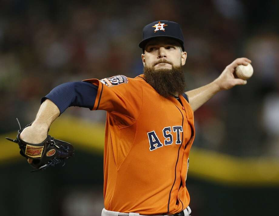 Scouting Dallas KeuchelKeuchel doesn't throw hard, but he has excellent command and a vast array of pitches. He has an excellent changeup, but his best pitch is his sinker, which results in tons of ground ball outs. This season, he's relied much more on his slider which he throws in the low-90s and also generates a lot of strikeouts and ground balls. Photo: Karen Warren, Houston Chronicle
