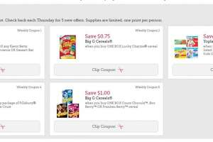 New Betty Crocker coupons (great triplers) - Photo