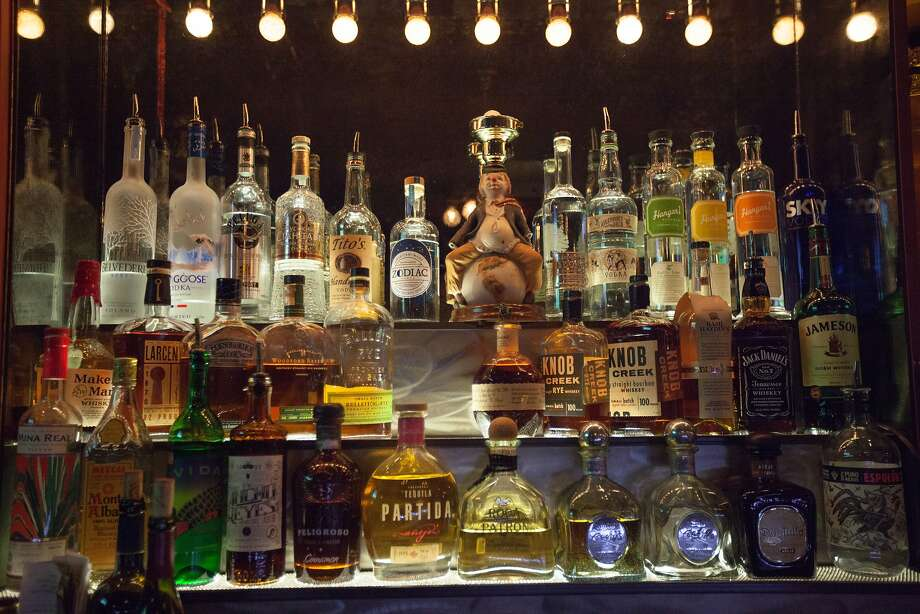 The selection of alcohol at Topsy's bar and lounge in San Francisco. Photo: Santiago Mejia, Special To The Chronicle
