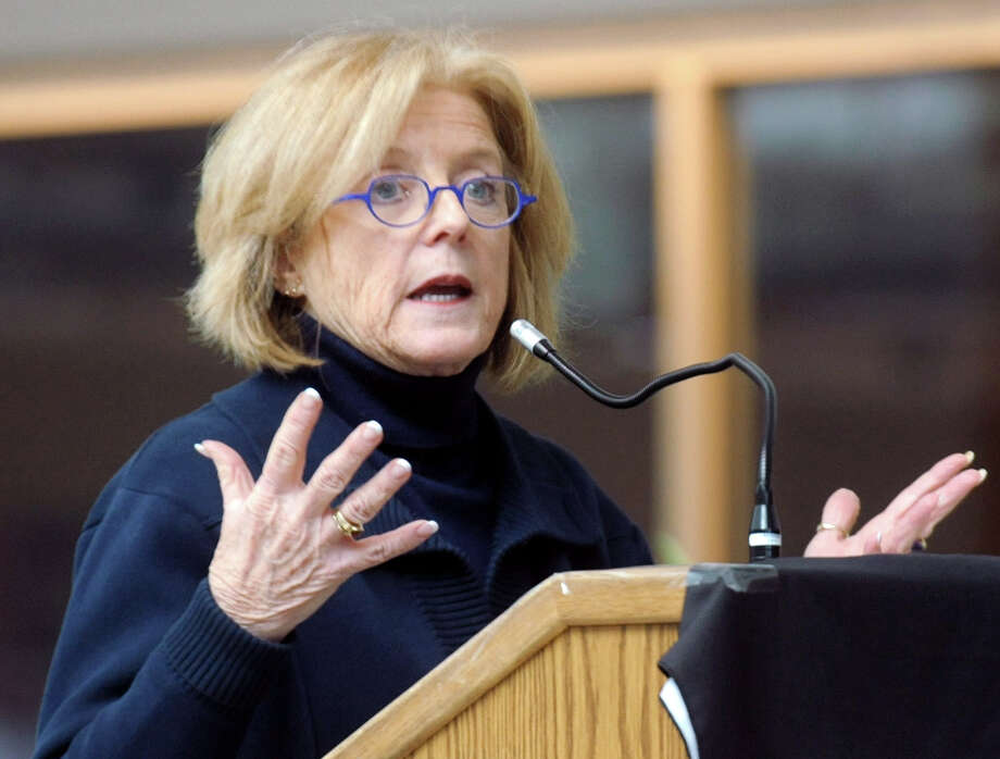 School Superintendent Winifred Hamilton plans to stay on to help transition an interim superintendent before she retires on Dec. 31. Photo: Lindsay Niegelberg / Lindsay Niegelberg / Stamford Advocate