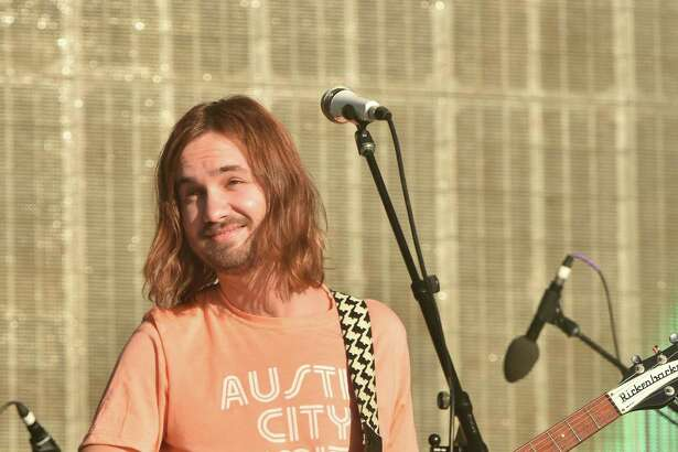 Kevin Parker of Tame Impala performs during the 2015 Austin City Limits Music Festival at Zilker Park on October 2, 2015 in Austin, Texas.
