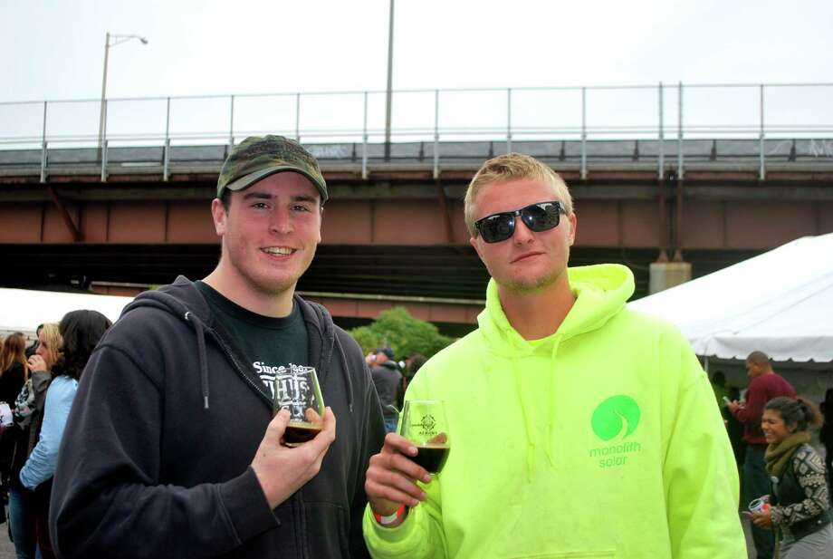Were you Seen at the Albany Craft Beverage Trail's Drink Albany event at Quackenbush Square in Albany on Saturday, Oct. 3, 2015? Photo: Silvia Meder Lilly