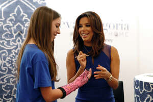 Fans got to meet Eva Longoria during S.A. stop - Photo