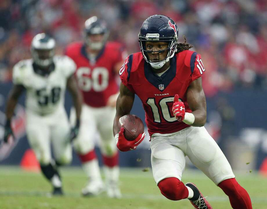 DeAndre Hopkins is the Texans' go-to receiver in his third NFL season. Photo: Karen Warren, Staff / © 2014 Houston Chronicle