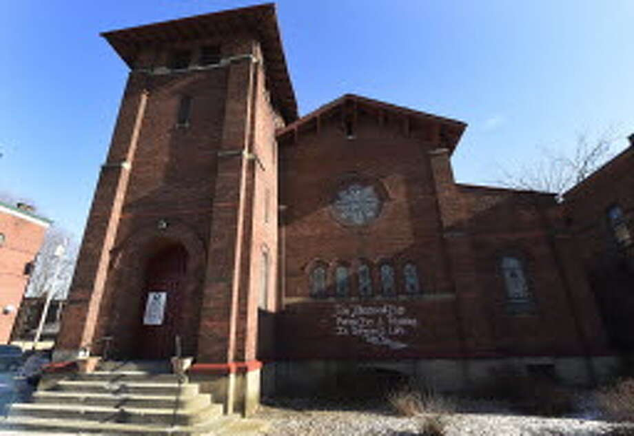 The Sixth Avenue Baptist Church in Troy. (Skip Dickstein/Times Union file photo)