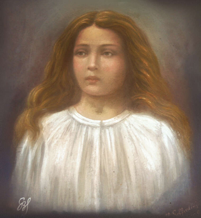 The relics of St. Maria Goretti is coming to St. Theresa Church in Trumbull Tuesday, Oct. 6, 2015, as part of a US tour known as The Pilgrimage of Mercy: the Tour of the Major. The relic is the preserved body of the saint, who died in 1902. St. Maria is universally known as the Patroness of Purity, and her greatest virtue was her unyielding forgiveness of her attacker even in the midst of horrendous physical suffering, a forgiveness that would completely convert him and set him on a path to personal holiness. Photo: Pilgrimage Of Mercy / Contributed / Connecticut Post Contributed