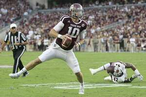 Texas A&M heads into bye undefeated after beating Mississippi St. - Photo