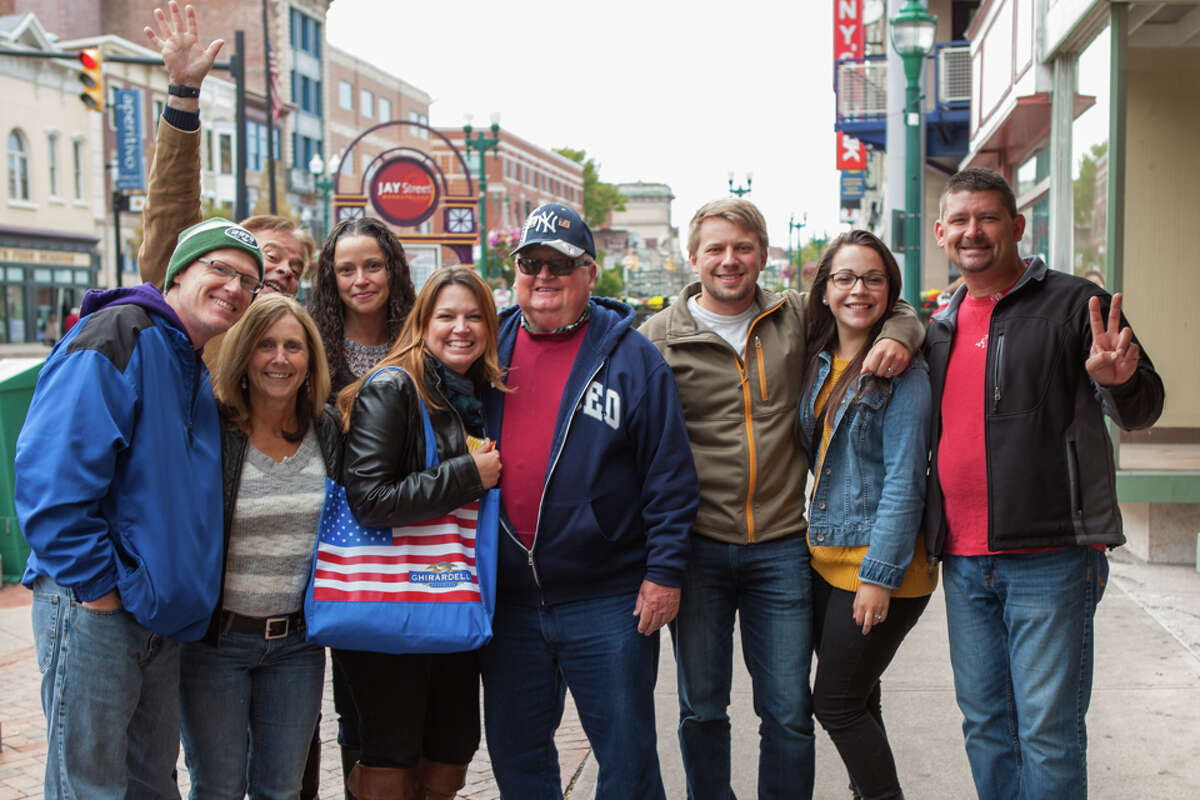 Were you Seen at the 4th Annual Wing Walk featuring food and drink from more than a dozen restaurants in downtown Schenectady on Saturday, Oct. 3, 2015?