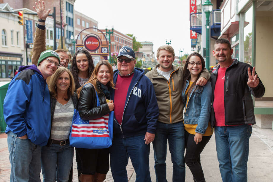 Were you Seen at the 4th Annual Wing Walk featuring food and drink from more than a dozen restaurants in downtown Schenectady on Saturday, Oct. 3, 2015? Photo: Douglas C Liebig / Optimum Exposure Photography