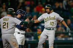 A's buck their bad trends and Semien, bullpen star in win at Seattle - Photo