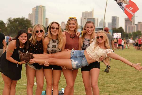 The Austin City Limits Festival brings out the best in Texas music lovers. Here's a look at fans who packed Zilker Park on day two of the popular music event on Saturday, Oct. 3, 2015.