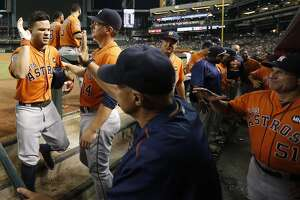 Live: Astros try to clinch playoff berth - Photo