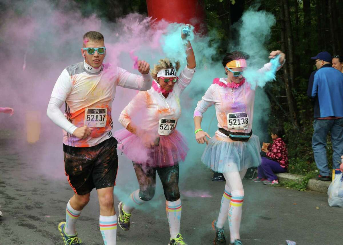 Were you Seen at the Color Me Rad 5K at the Saratoga Spa State Park in Saratoga Springs on Sunday, Oct. 4, 2015?