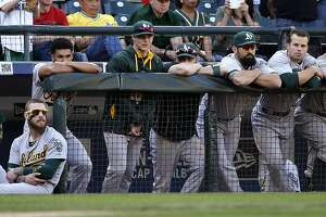 A's look for reasons behind disappointing season - Photo