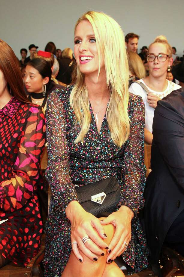 Nicky Hilton attends the New York Fashion Week Spring/Summer 2016 Diane von Furstenberg fashion show on Sunday, Sept. 13, 2015, in New York. (Photo by Andy Kropa/Invision/AP) ORG XMIT: NYAK105 Photo: Andy Kropa / Invision