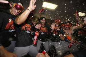 Astros clinch American League wild card spot - Photo