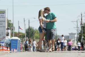 What football game? Houstonians enjoyed street closure Sunday - Photo