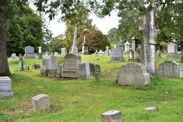 Grave stones in Albany Rural Cemetery Thursday Oct. 1, 2015 in Menands, NY.  (John Carl D'Annibale / Times Union) Photo: John Carl D'Annibale / 10033566A