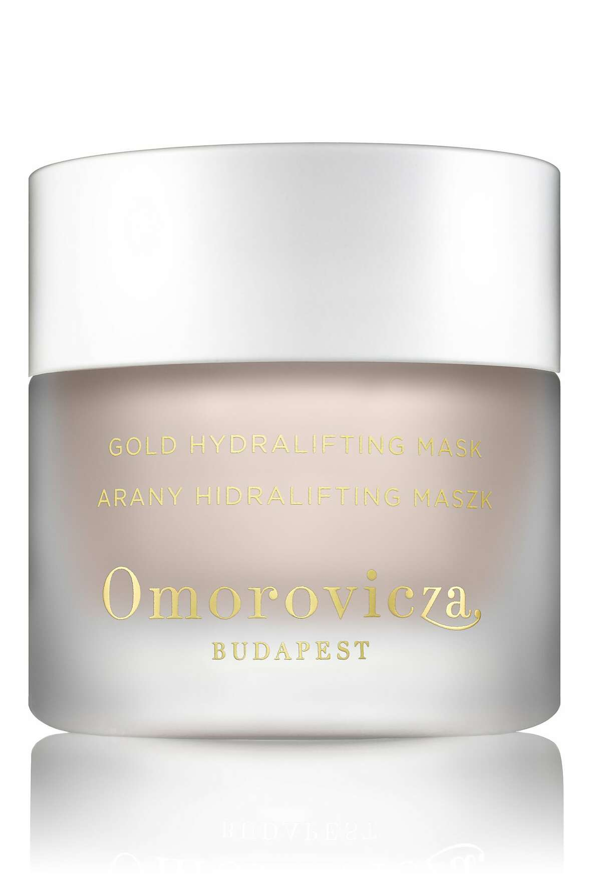 Omorovicza Gold Hydralifting Mask. $185. Sold at Neiman Marcus and omorovicza.com.
