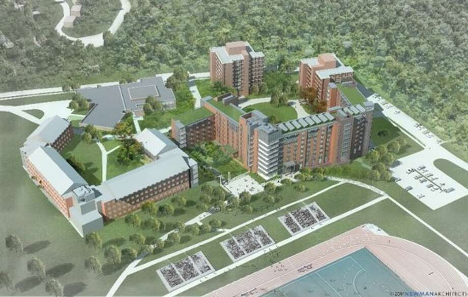 UConn's new residence hall, known as the STEM dor Photo: Contributed Photo / Connecticut Post