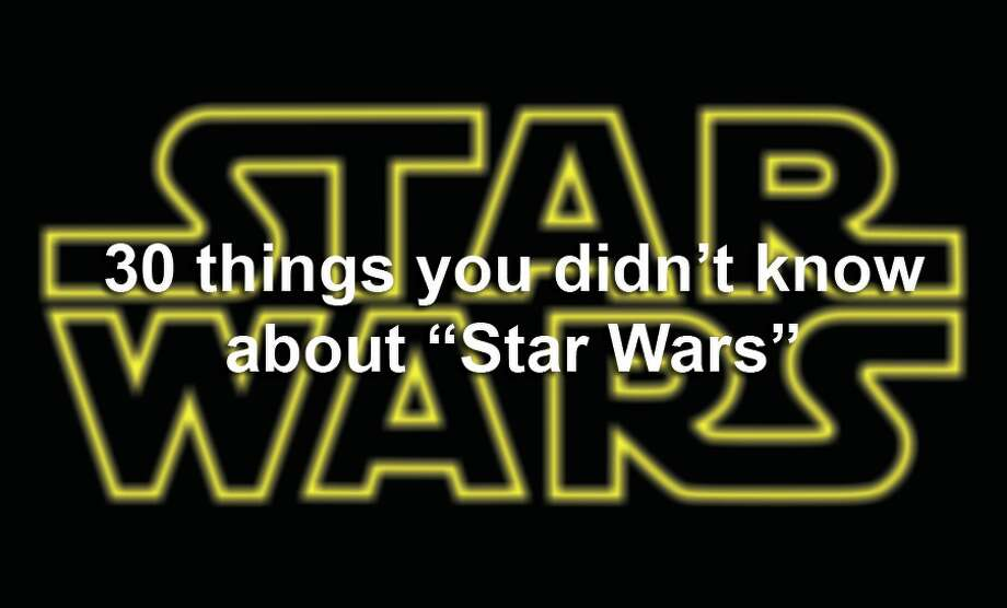 30 things you didn't know about 'Star Wars'
