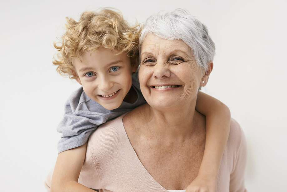 A friend is worried that a grandmother is to intimate with her grandchild. Photo: PeopleImages.com