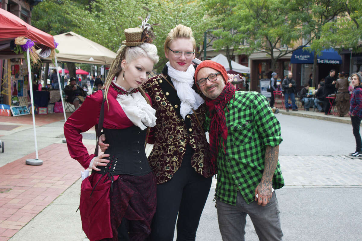 Were you Seen at The Enchanted City steampunk street festival on Saturday, Oct. 3, 2015, in Troy?