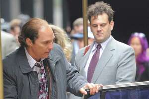Matthew McConaughey debuts balding, tubby look on set of new film - Photo