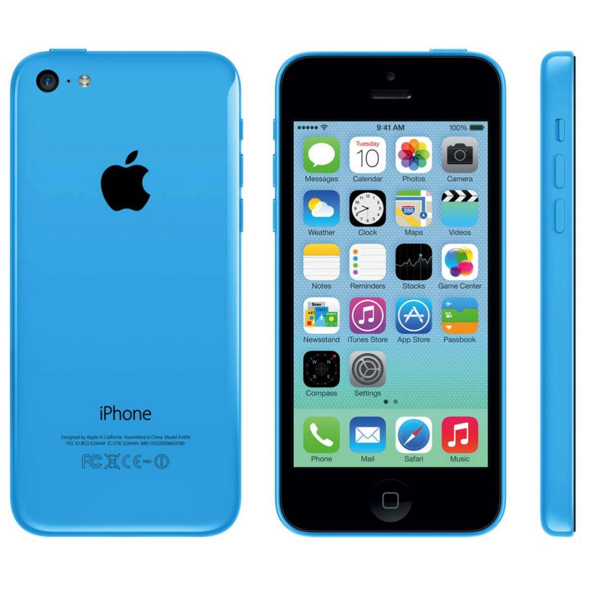 iPhone 5c A 16 MB 5c in good condition is worth about $25 on Gazelle.com