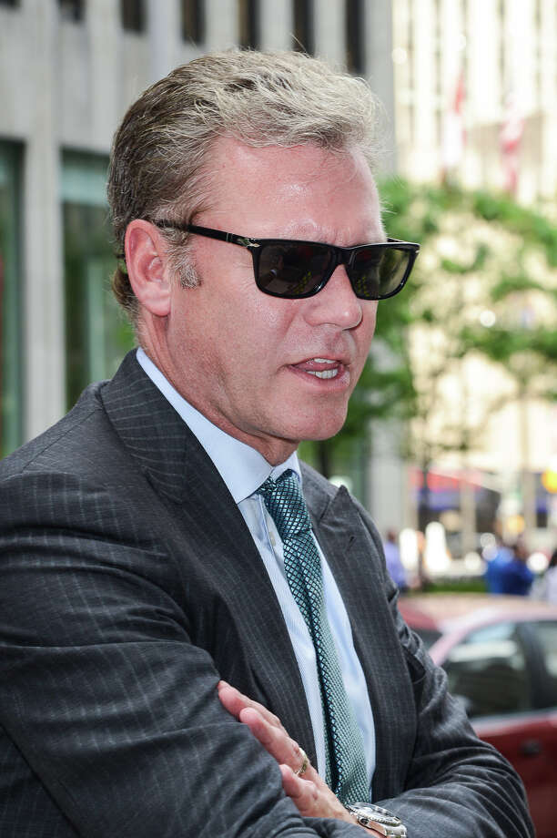 TV personality Chris Hansen leaves the Sirius XM Studios on May 30, 2013 in New York City. Photo: Ray Tamarra / Getty Images / 2013 Ray Tamarra Getty Images Connecticut Post contributed