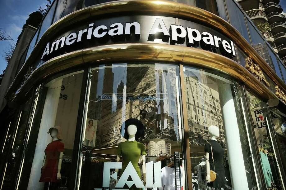 An American Apparel store in New York City. The L.A.-based retailer has filed for Chapter 11 bankruptcy protection nearly a year after the ousting of founder and CEO Dov Charney. In its latest quarter, the youth driven clothing company reported a loss of $19.4 million. Photo: Spencer Platt / Spencer Platt / Getty Images / 2015 Getty Images