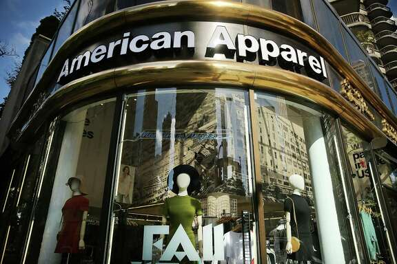 An American Apparel store in New York City. The L.A.-based retailer has filed for Chapter 11 bankruptcy protection nearly a year after the ousting of founder and CEO Dov Charney. In its latest quarter, the youth driven clothing company reported a loss of $19.4 million.