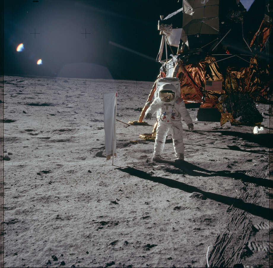 The entire Apollo program Back in 1973, the total cost of the program that put man on the Moon was $25.4 billion. Photo: NASA