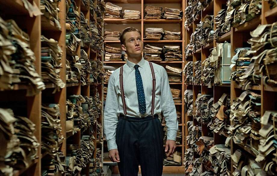 """In the German film """"Labyrinth of Lies,"""" Alexander Fehling plays Radmann, a young prosecutor who begins investigating Nazi war crimes a generation after World War II. Photo: Heike Ullrich/Sony Pictures, McClatchy-Tribune News Service"""