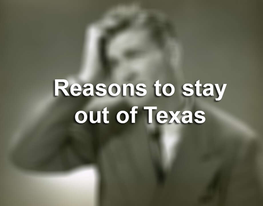 Click through the slideshow to see a collection of things that are so historically Texan, you may want to stay away if you don't like them.