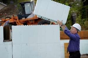 Foam home-building technique comes to Danbury - Photo