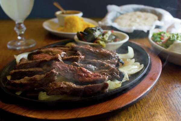 Beef fajitas at Original Ninfa's on Navigation