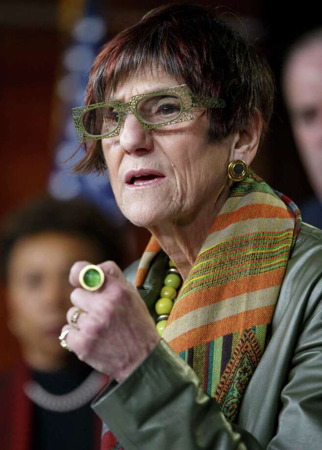"""A Government Accountability Office report shows that Medicare """"was not verifying network adequacy. That's their job and they abdicated that responsibility,"""" said U.S. Rep. Rosa DeLauro, D-New Haven. Photo: J. Scott Applewhite / Associated Press / Associated Press"""