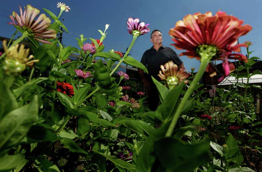 """Real estate agent Blake Hillegeist said the city """"made it impossible"""" to keep the 8,400 square-foot community garden. Photo: J. Patric Schneider, Freelance / © 2015 Houston Chronicle"""