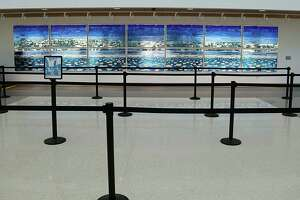 Local airport gets lively artwork - Photo