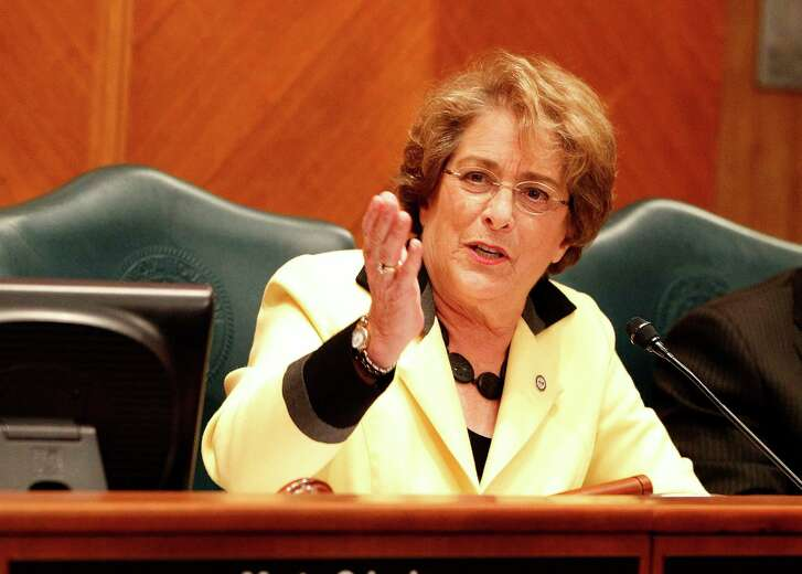 City council member Ellen Cohen speaks in the city council chambers, as the proposed Equal Rights Ordinance was up for discussion with the public and the city council members, Wednesday, April 30, 2014, in Houston. ( Karen Warren / Houston Chronicle  )