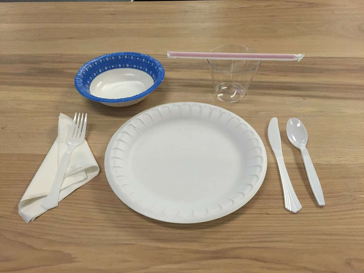 Fine dining in Fort Bragg may look something like this staged photo under the city's new water emergency regulations