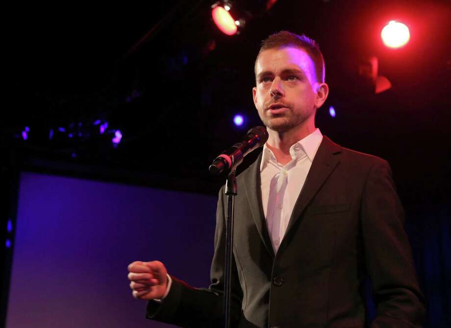 Twitter co-founder Jack Dorsey expressed confidence he can lead the social media site and Square, a mobile-payment startup, simul-taneously. Photo: Mary Altaffer, STF / AP