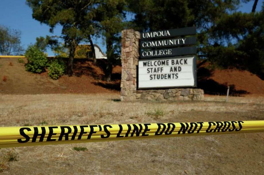 Umpqua Community College. Photo: John Locher, STF / AP
