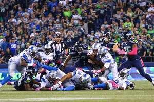 Seahawks escape Lions - Photo