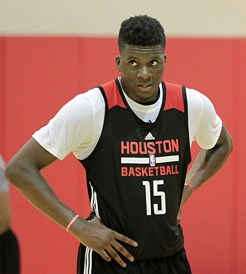 Center Clint Capela has gone from a long-term project for the Rockets to Dwight Howard's primary backup. Photo: James Nielsen, Staff / © 2015  Houston Chronicle