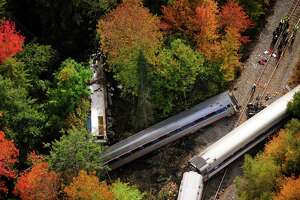 Amtrak train service modified following derailment - Photo